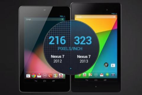 Nexus 7 contra su antecesor