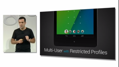 Android 4.3 perfiles restringidos