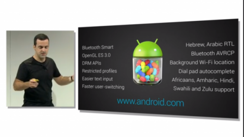 Resumen Android 4.3 Jelly Bean