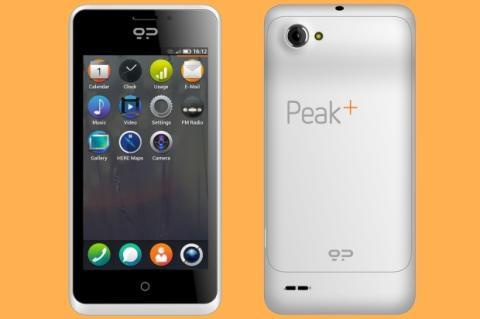 Geeksphone Peak+, smartphone con Firefoz OS 1.1