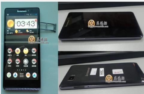 Filtrado smartphone Lenovo con procesador Snapdragon 800