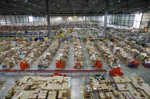 Amazon ya dispone de 97.000 empleados