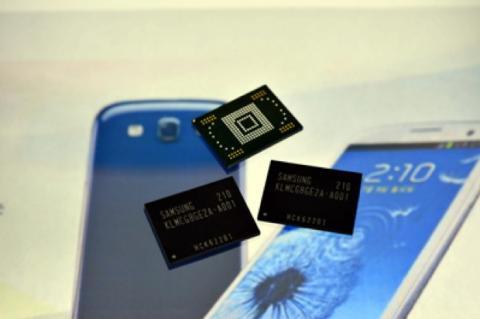 Samsung inicia producción nuevo chip de memoria más rápido
