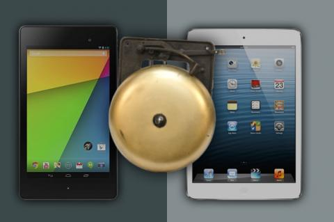Participación en el mercado de tablets: Android vence a iOS