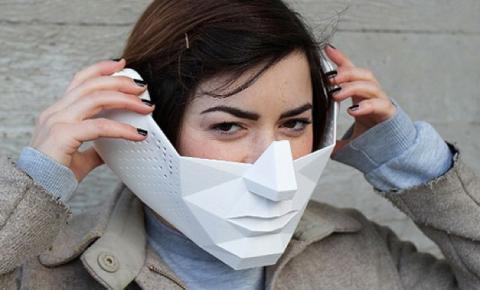 Máscara Eidos amplificadora de sonidos