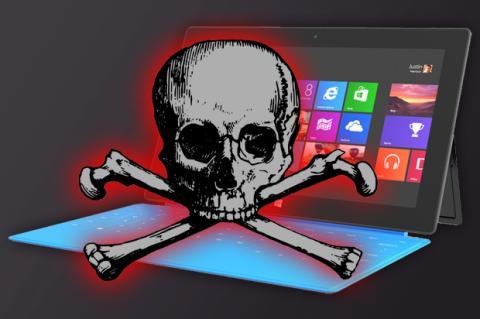 Microsoft Surface: utilidades ni siquiera cubren el mercadeo