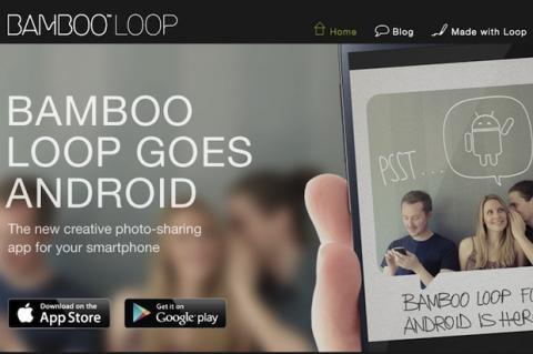 Envía fotos y tarjetas personalizadas con Bamboo Loop