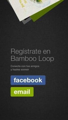 Regístrate en Bamboo Loop
