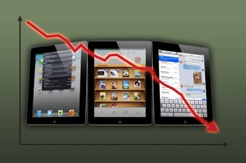 El iPad de Apple pierde el dominio del mercado de tablets
