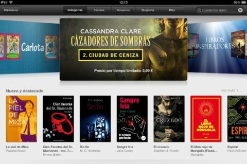 La Justicia americana quiere penalizar a Apple por pactar el precio de los ebooks con algunas editoriales.