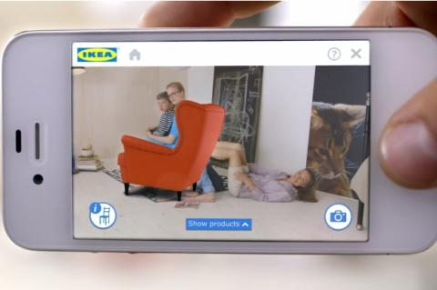 App de IKEA con realidad aumentada