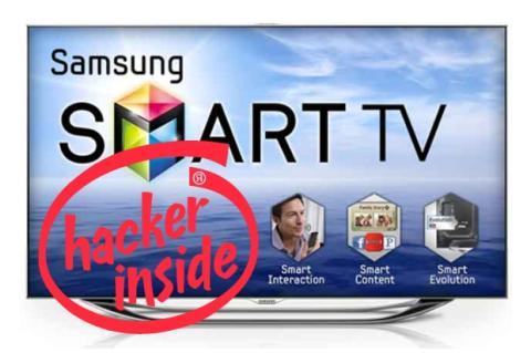 Hackers espían tu Smart TV