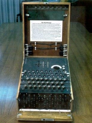 Máquina de cifrado de los nazis, Enigma