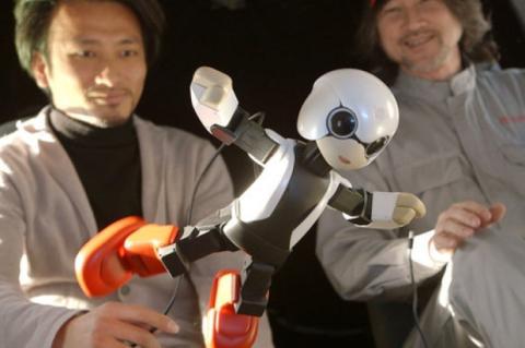 Kirobo, el robot que alivia la soledad de los astronautas