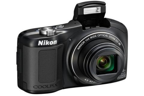CoolPix L620, nueva cámara económica de Nikon