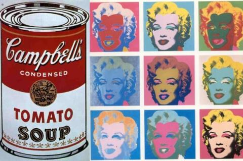 Colocan una webcam en la tumba de Andy Warhol