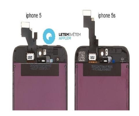 Nuevas imágenes diferencian el iPhone 5 y el iPhone 5S