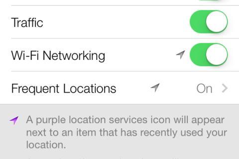 iOS 7 registraría todos tus movimientos ¿quién puede verlos?