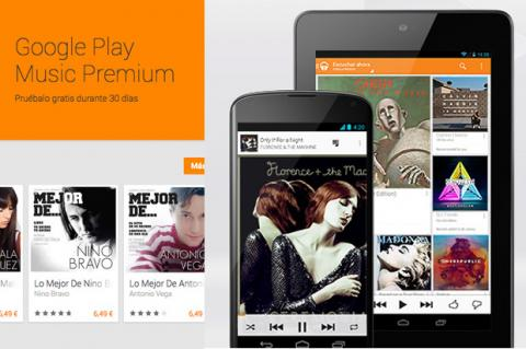 Google Play Musisc Premium disponible para Android