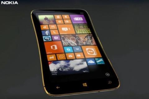Concepto de Nokia Lumia 1030