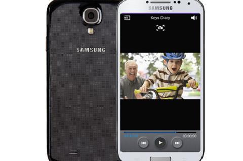 Smart Scroll Galaxy S4