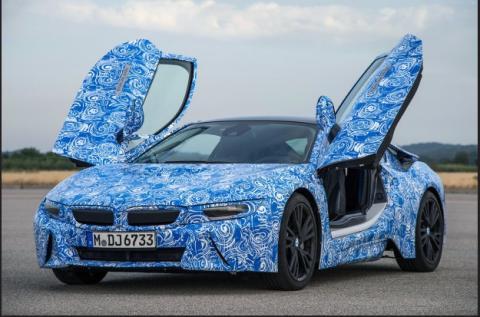 BMW i8, el primer coche con cristales Gorilla Glass