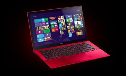 Sony presenta línea roja de notebooks Vaio