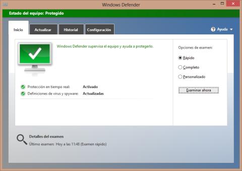 Cómo abrir Windows Defender