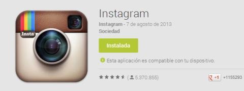 Instala Instagram