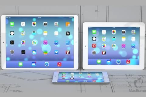 iPad Maxi de 12,9 pulgadas, según MacRumors