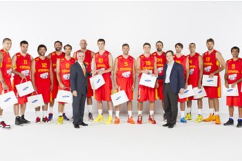Samsung patrocina a la Selección Española de Basket