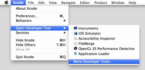 Captura de pantalla Apple Developer