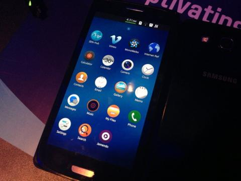 Smartphone con SO Tizen