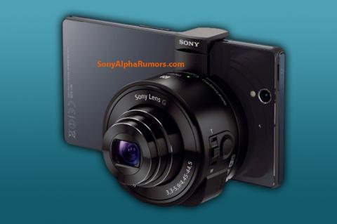 Sony tiene un lente/cámara para usar con tu smartphone