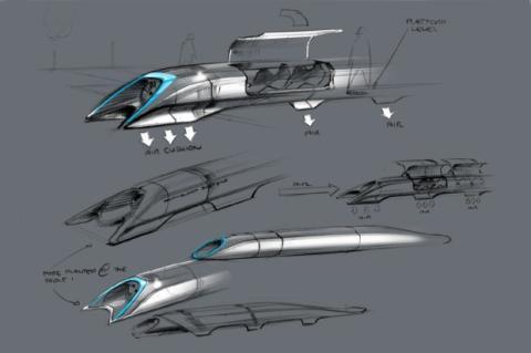 Hyperloop, el transporte del futuro a través de tubo de aire