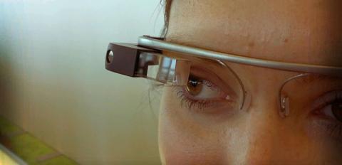 Primera imagen de google glass