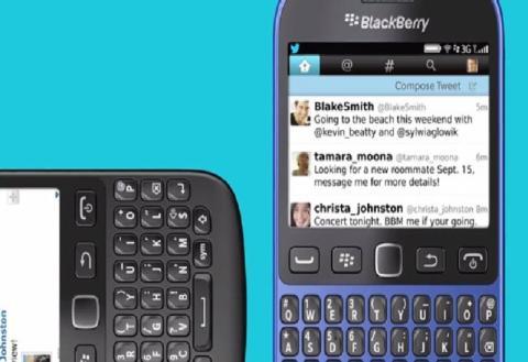 BlackBerry 9720, nuevo modelo oficialmente presentado