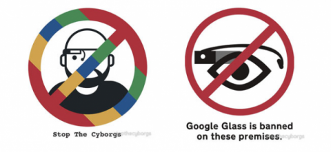 carteles anti google glass
