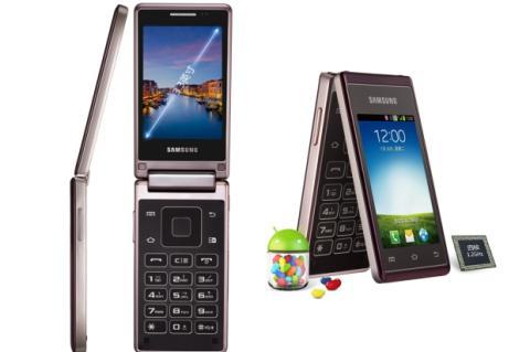 El smartphone Samsung Hennessy ya es oficial. Con doble pantalla, tapa y teclado