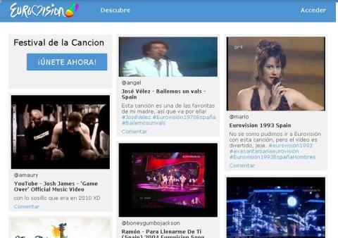 Nace Eurovision.lu, la red social del festival de música