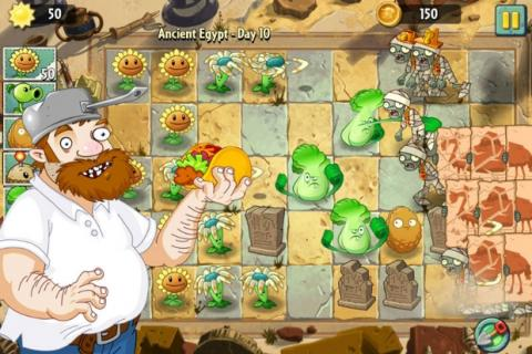 Plants vs. Zombies 2 ya disponible para iPhone, iPad e iPad Touch.
