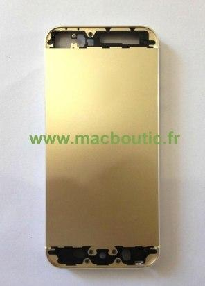 iPhone 5S en dorado