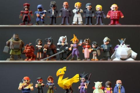 Square Enix impide la venta de figuras de Final Fantasy impresas con una impresora 3D