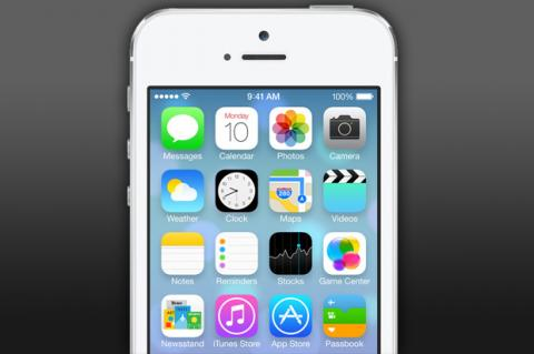 iOS 7 llegará a iPhone y iPod Touch antes que a iPad