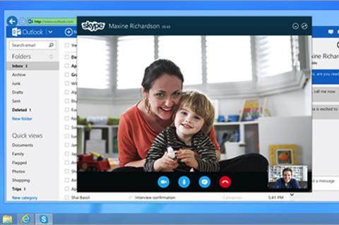 Microsoft integra Skype con Outlook.com