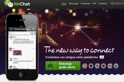 WeChat amasa 100 millones de usuarios fuera de China