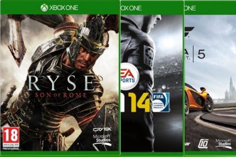 Xbox One: Lista oficial de juegos de lanzamiento