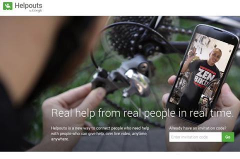 Google Helpouts, servicio de vídeo chat de ayuda