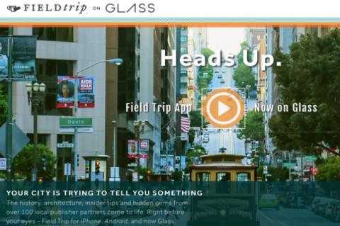 +Field Trip ahora en Google Glass