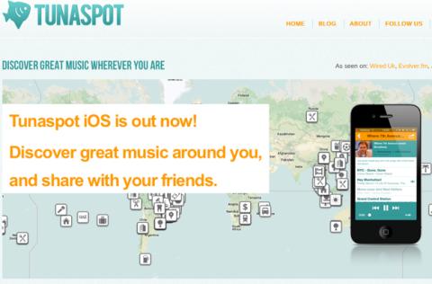 Tunaspot lanza app para iPhone